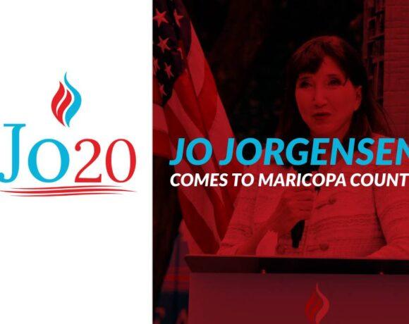 Jo Jorgensen Visits Maricopa County Oct 10